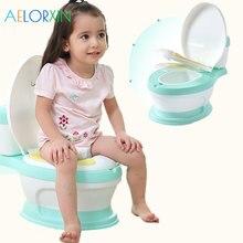 Портативный туалет для детей 6 мес.-8 лет, Детский горшок, тренировочный горшок для девочек и мальчиков, детский туалет для новорожденных, писсуар, сиденье для унитаза