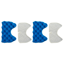 2x filter + 2x cotton filter vacuum cleaner filters Hepa Part For Samsung Cup SC65 /66/67/68 series Vacuum Cleaner dust filter цены
