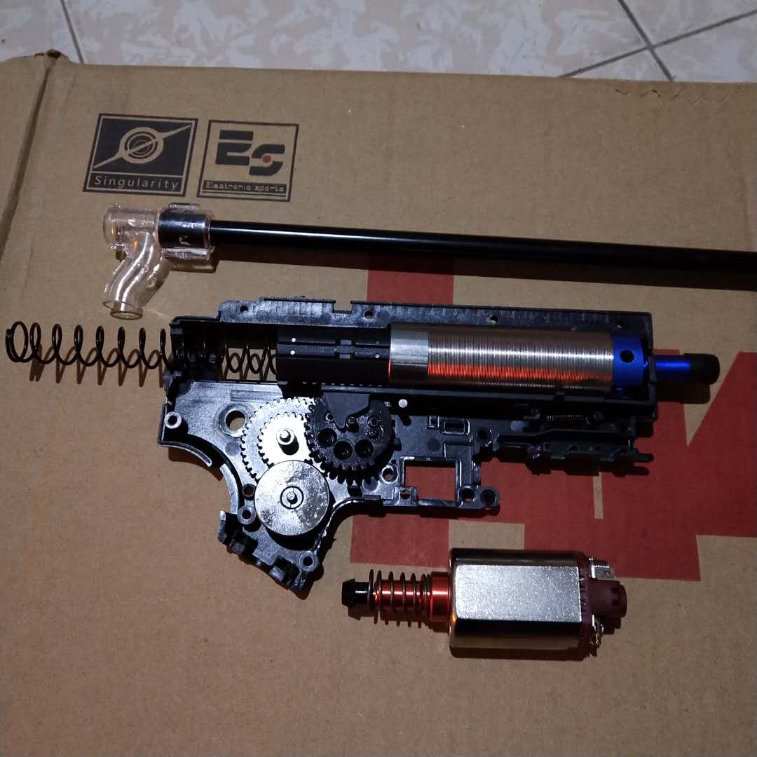 Haute recommander des Kits de Modification de mise à niveau de luxe avec la Version SHS Gear 18/1 pour la mise à niveau de Modification de boîte de vitesses JM Gen.9 M4A1
