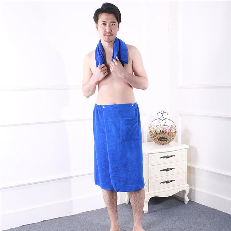Best Mens Gym Towel: Aliexpress.com : Buy Wearable Men Bath Wrap Towel Dress