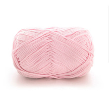 50g/ball Worsted 5 ply Soft 100% Pure Cotton Baby Yarn for Hand Knitting Crochet DIY Sweater Scarf Shoes Hat QW061