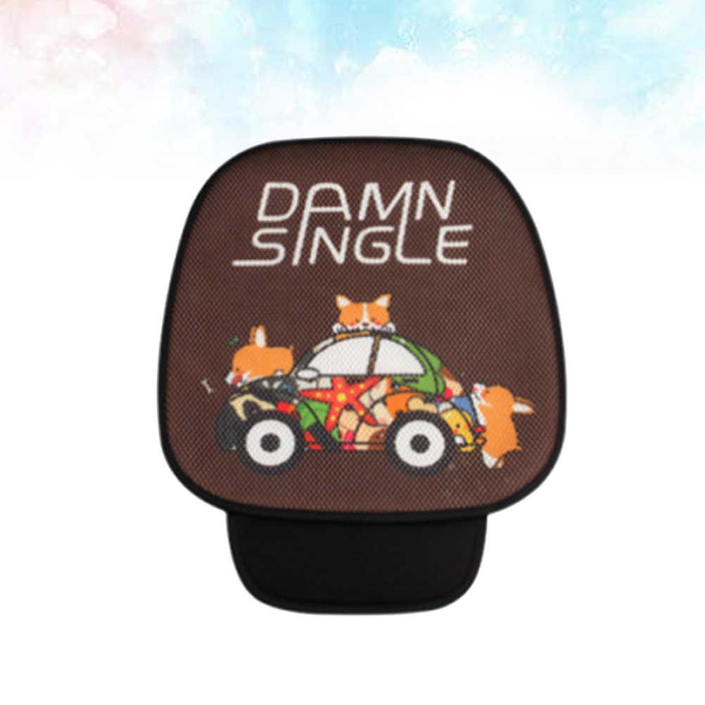漫画のパターンカーシートは、車のインテリアクッションパッドマットの自動供給車の椅子 (コーヒー)