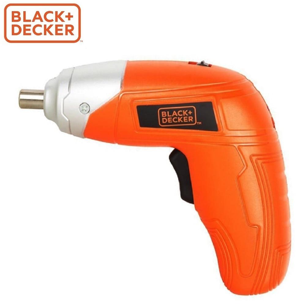 Screwdriver Black+Decker KC3610-RU screwdrivers drill repair hand tools home repairs screwdriver black decker ld12sp ru screwdrivers drill repair hand tools home repairs