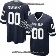 078a6341fa1 Custom Navy Mesh Football Jersey Design Online Embroidered High School  College Team Logo Name And Your