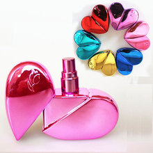 25ml Heart Shaped Glass Perfume Bottles with Spray Refillable Empty Atomizer and  Classic Style 6ML For Portable upgrade