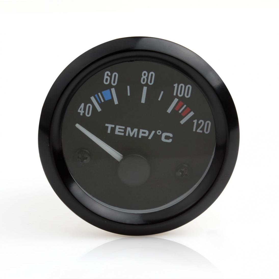 2 Inch 12V universele auto pointer watertemperatuur temp Gauge 40 - - Auto-onderdelen