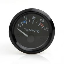 2 Inch 12V Universal Car Pointer Water Temperature Temp Gauge 40 - 120 White LED