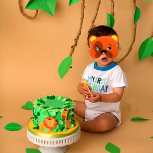 Image 4 - Creative 10Pcs Funny EVA Children Animal Mask Mask Kids Woodland Farm Dress Prop Birthday Party Decoration