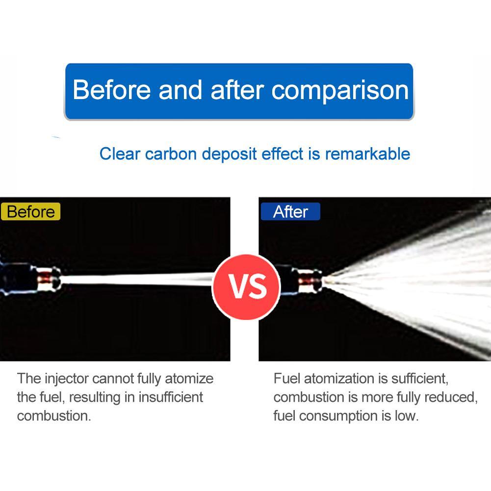 Image 5 - 60 мл очиститель топливной форсунки, автомобильная система, бензин, экономия, газ, масло, добавка, агент для очистки углерода, восстановление пиковой производительности