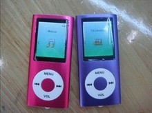 цена на Dropshipping!!! 4th Slim 1.8LCD flash MP3 MP4 Player FM Radio Player support tf card player 9 colors