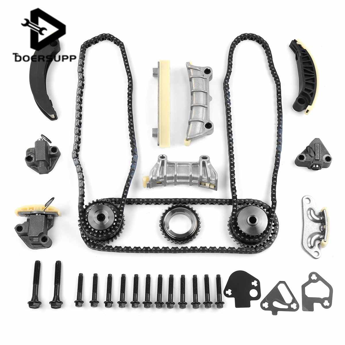 Timing Chain Kit For GM for Holden Commodore VZ VE Alloytec LY7 LLT 3 6L V6  w/Gears Automobiles Engines & Components