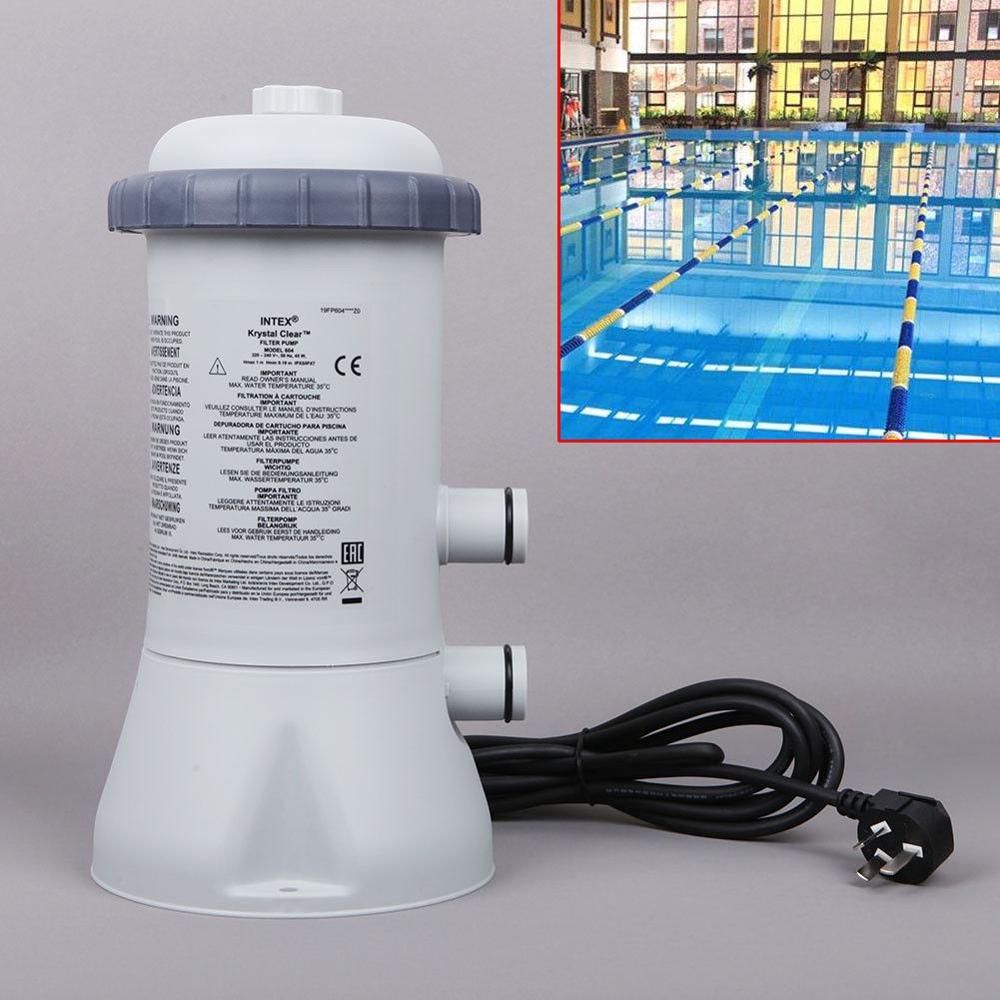 1000GAL 220 V pompe de filtration Outils Pour Intex Piscine Rapide Sol cadre en acier - 5