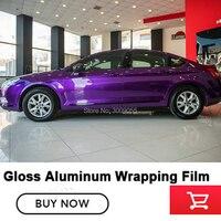 Высококачественная Блестящая Алюминиевая виниловая пленка фиолетовая с воздушным пузырьком жемчужный металлик виниловый немецкий клей н