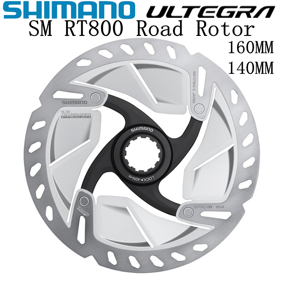 SHIMANO ULTEGRA R8000 SM RT800 Rotor 140mm 160mm Road Bicycles Rotor RT800 R8020 R8070 CENTER LOCK