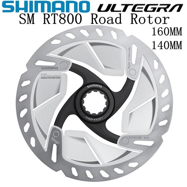 SHIMANO ULTEGRA R8000 SM RT800 Rotore 140 millimetri 160 millimetri Biciclette Da Strada Rotore RT800 R8020 R8070 CENTRO di BLOCCO Freno A Disco rotore