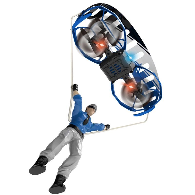 Eachine E019 2-Axis RC Stunt Paraglider Flight Mode Altitude Hold Mode Drone Mini Quadcopter RTF