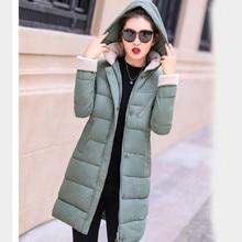 2018 New Parkas Female Women Winter Coat Thickening Cotton Winter Jacket Womens Outwear Parkas for Women Winter Long Hooded