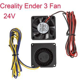 Creality Original 4010 soplador 40x40x10MM 24V CC ventilador de refrigeración círculo ventilador para Ender 3/Ender 3 Pro 3D piezas de impresora