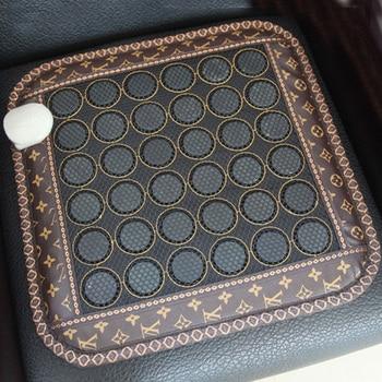 Professional Germanium Sofa Mat Natural Jade Cushion Summer or Winter Heated Seat Jade Cushion