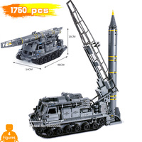 1750pcs war Building Blocks Missile crawler tank 8U218 TEL 8K11 with Legoinglys military ww2 model Figures Mini Weapon gift toy