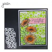 YINISE Metal Cutting Dies For Scrapbooking Stencils  Background Cut SCRAPBOOK CUT DIY Album Cards Decoration Embossing Die Cuts