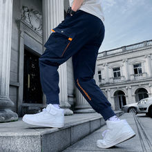 sweatpants 2019 Spring And Autumn Fashion Leisure streetwear Pocket Jogging camo Pants Trend Japanese Ankle Banded Bound Feet