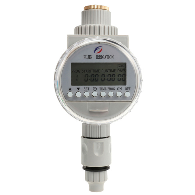 Garden Watering Solar Water Timer Automatic Watering Irrigation Controllers System Lcd Digital Irrigation Timer