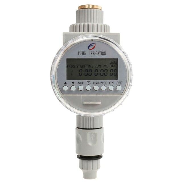 Temporizador de agua Solar de riego automático sistema de controladores Lcd Digital de riego