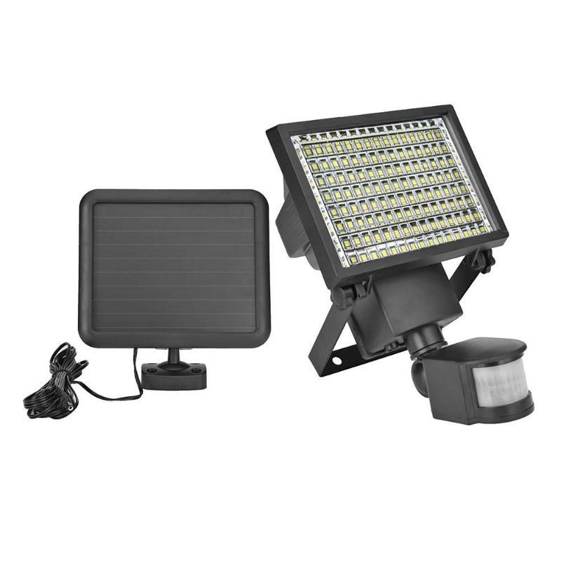 120 LED Solar Light Motion Sensor IP65 Outdoor Spotlight Safety Flood Lamp Solar Courtyard Lamp For Fence Stair Pathway Yard