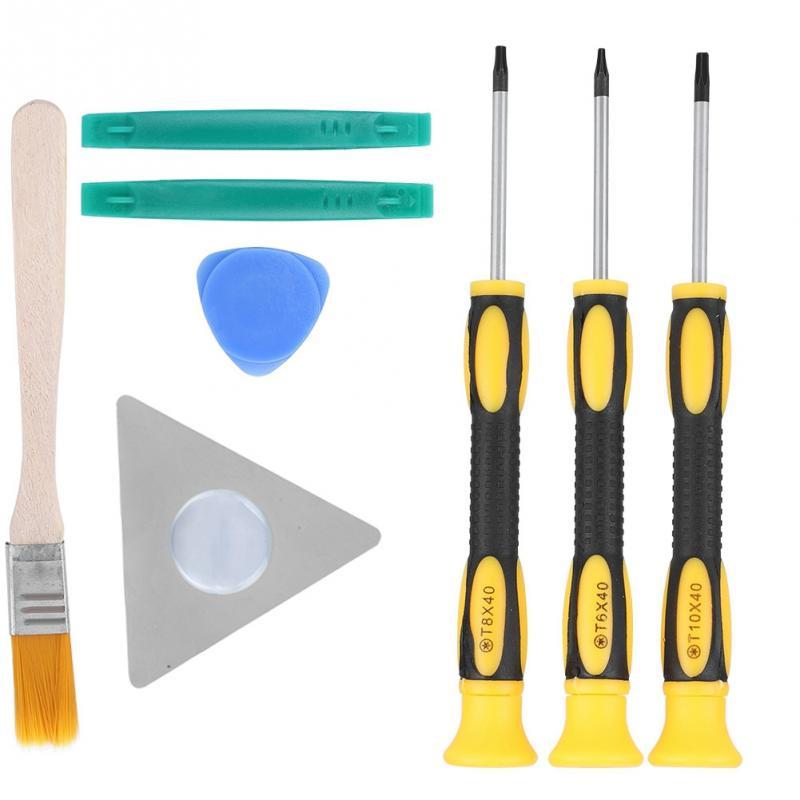 8PCS Game Console Handle Dismantle Repair Tools Kit Screwdriver Set for xbox 360 Repair Tools Kit Screwdriver Set Hot