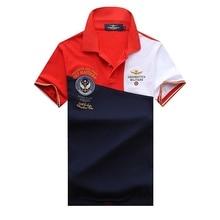 2018 dos homens da Marca Camisa Polo Eden Air Force One Homens Camisas Para  Os Homens 17b99e61549d5