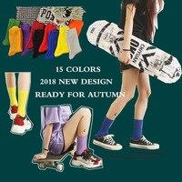 Носки с нескользящей подошвой для мужчин и девочек, в японском стиле, с вышивкой MS мультфильмов ние и осенние спортивные носки в духе коллед