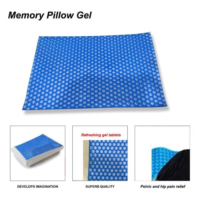 Almohada Para Dormir Con Memoria Ortopedica Suave Para Cuello Cara Anti Edad