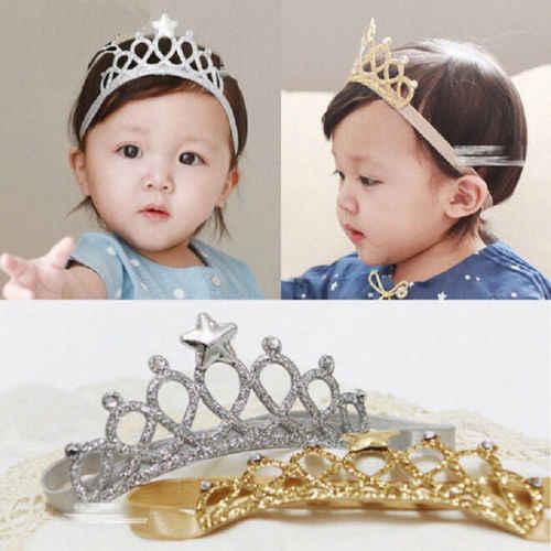 Новинка; аксессуары для волос; корона для маленьких девочек; повязка на голову; Тиара для детей на день рождения