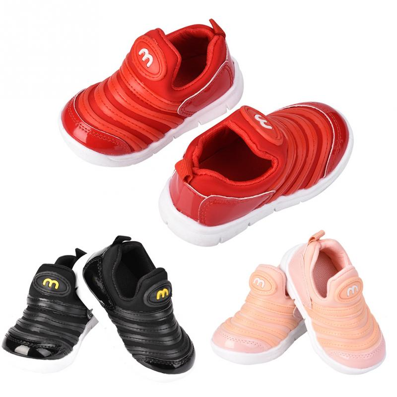 Shoes Girls Sneakers Fashionable Non-Slip Baby Boys Soft Comfortable Children