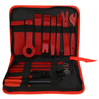 19pcs Professional Car Trim Removal Tool Set Pry Bar Panel Door Interior Hand Tools Kit Removal Pry Tools Set