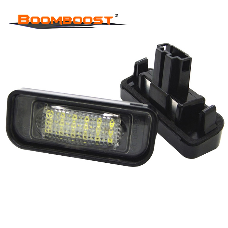 Car LED License Plate Lights For Mercedes W220 S Class 99 05 Benz Accessories SMD3528 LED
