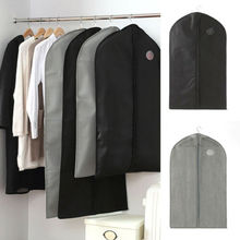 Clothes Hanging Bag Dust Cover Garment Suit Dustproof Wardrobe Storage Organizer Non-Woven Fabric Clothing Covers