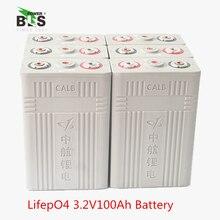 2019 Новый 12 шт lifepo4 100Ah 3,2 v cell 100A CALB разрядка для EV Ремонтный комплект батарей для хранения солнечной энергии UPS питания США ЕС налог бесплатно