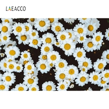 Laeacco Blossom Flower Wallpaper Seamless Backdrop Photography Background Customized Photographic Backdrops For Photo Studio