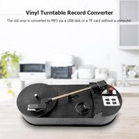 Portable USB Turntable Vinyl LP Mini Record Player Built in Speaker Recorder Player 33/45RPM Vinyl Turntables to MP3 Converter