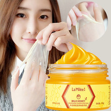 LAMILEE นมน้ำผึ้งมือ Hand Wax Moisturizing Whitening Skin Care Exfoliating Calluses Hand ฟิล์ม Hands Care ครีม 110g(China)
