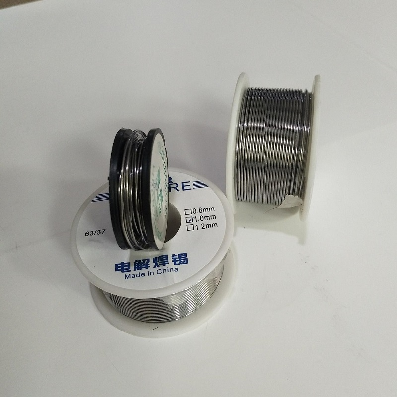 Welding Line 10 100g Solder Wire Reel Lead Line 1mm Rosin Core Good Welding ability Tin Not clean 63 37 in Welding Wires from Tools