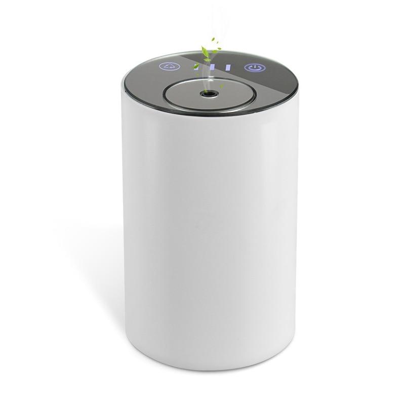 Waterless & Óleo Essencial de Aromaterapia Difusor de Nebulização Carro Sem Fio Recarregável Aromatherap Difusores Aroma Ambientador Carro
