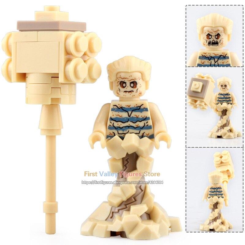 Generous 20pcs Xh1125 Marvel Superhero Sandman Villain Hero Spider-man Legoingly Building Blocks Bricks Toys For Children Gifts To Have A Unique National Style Model Building