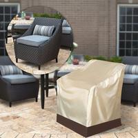 Универсальные пылезащитные Чехлы 90x93x83 см 35 ''водоотталкивающий для патио одинарные высокие чехлы для спинки стуля уличная мебель защитная ...