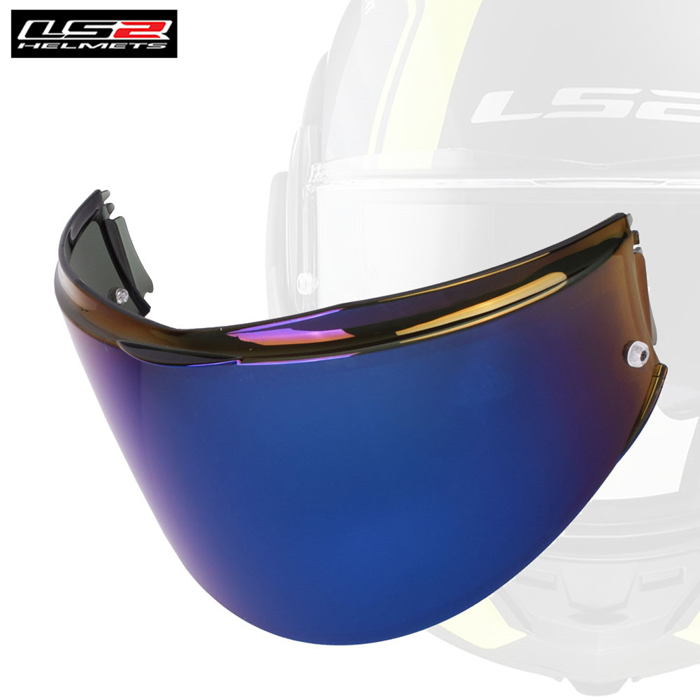Silver LS2 Anti-Scratch FF399 Valiant Motorcycle Helmet Visor Face Shield
