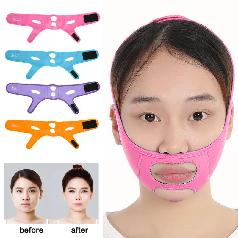 Health Care Face Slimming Mask Slim Lift Tighten Skin Bandage Double Chin Remove Weight Loss Belt Diversified In Packaging