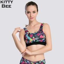 Sports Bra For Fitness Yoga Running Padded Push Up Sport Top Brassiere Underwear Workout Tank Sportswear