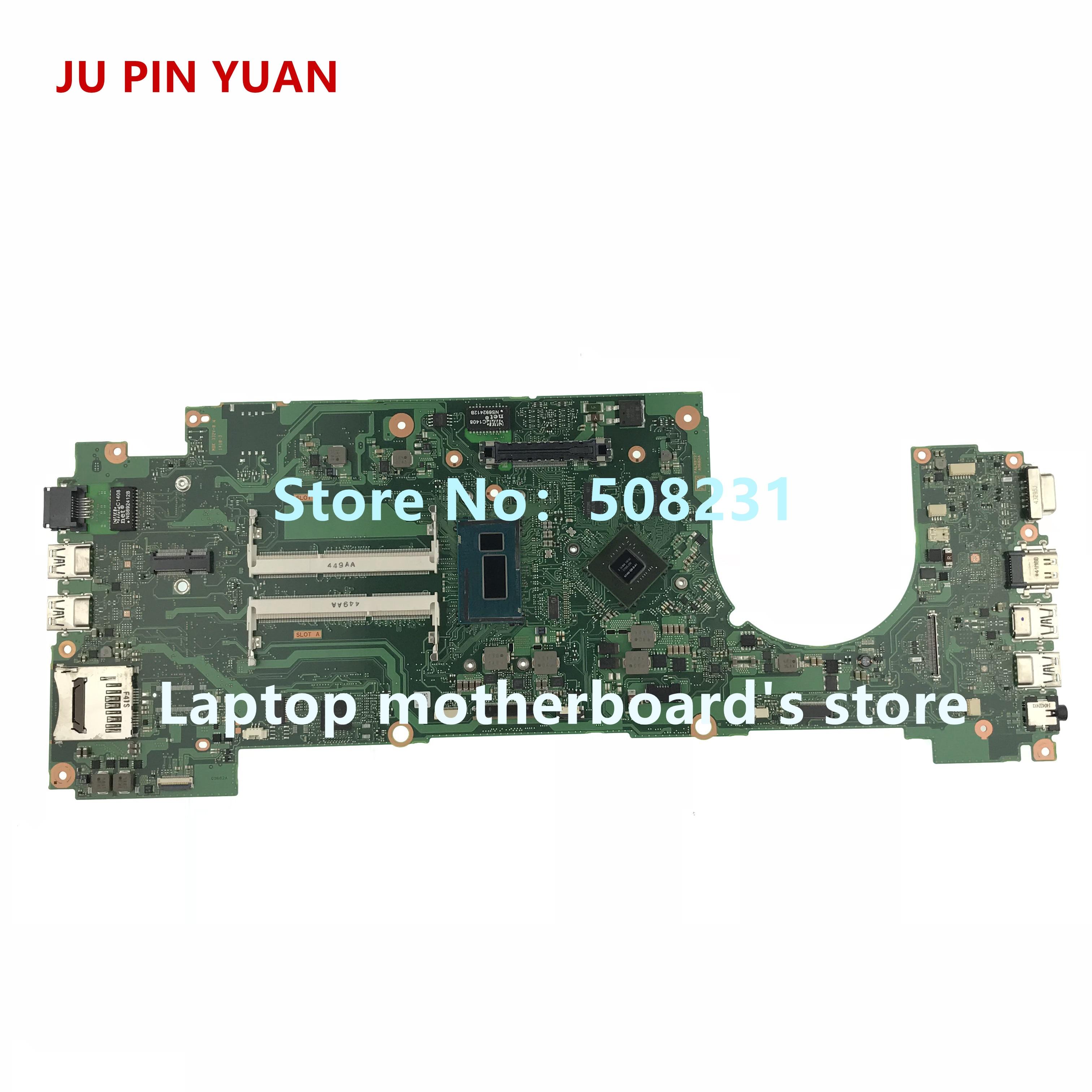 JU PIN YUAN FALXSY2 A3682A Z55-A laptop Motherboard mainboard Para Toshiba Tecra Z50 Z55 Z50-A com i7-4600U perfeito funcionamento